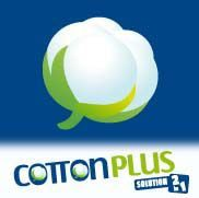 COTTON PLUS SOLUTION  2 IN 1