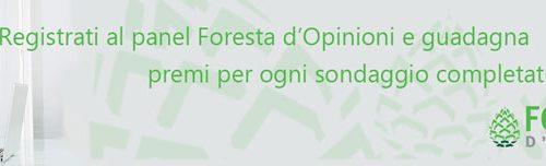 Inviti per Foresta di opinioni