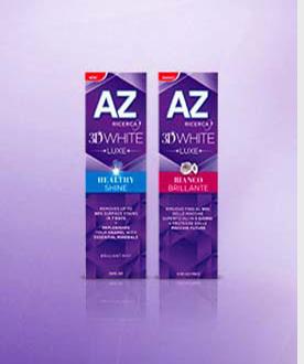 Diventa Tester dentifricio Az 3D White Luxe