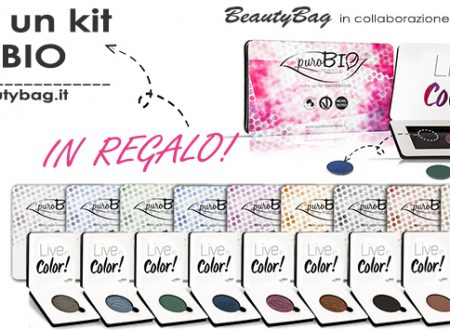 Contest Beauty Bag – Adotta un Kit PuroBIO