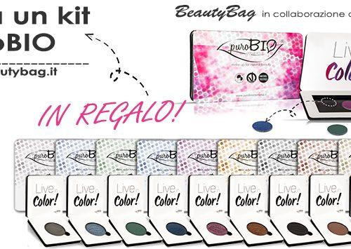 Contest Beauty Bag – Adotta un Kit PuroBIO