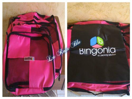 Set organizer per valigia Bingonia