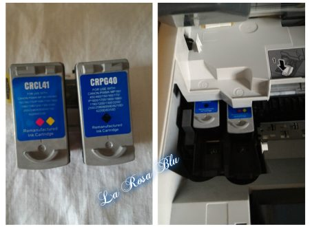 Cartucce x stampante Canon Printing Pleasure