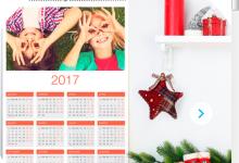 Omaggio calendario personalizzato Kinder