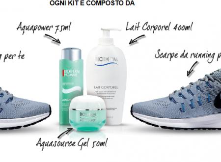 Gioca e Vinci Prodotti e Scarpe Nike con Biotherm