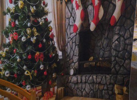 Sfondo natalizio per foto Mohoo