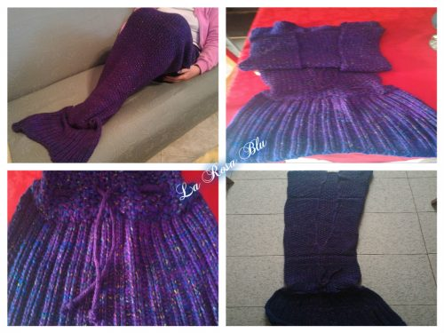 Coperta a coda di sirena King Do Way