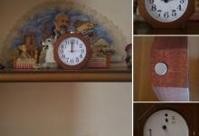 Orologio legno Baban