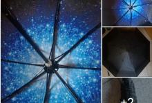 Ombrello cielo stellato CamToa