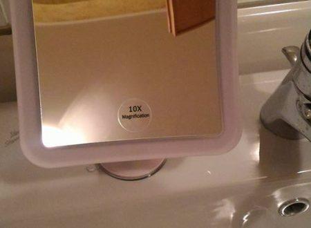 Specchio ingrandimento 10X Auxent
