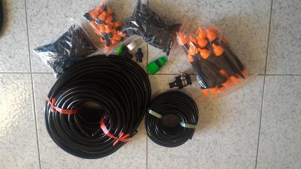 Kit per irrigazione a goccia diy blog di lepassionidilucy for Temporizzatore per irrigazione