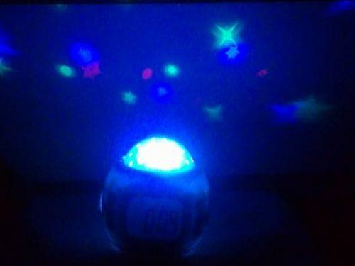 Sveglia con proiettore cielo stellato DrillPro