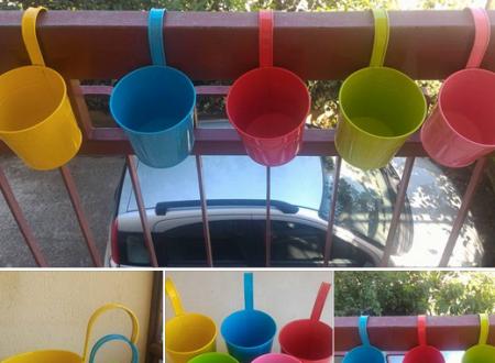 Set 5 vasi per fiori Asvert