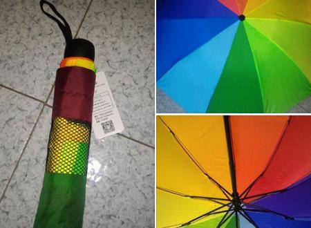 Ombrello arcobaleno CamToa