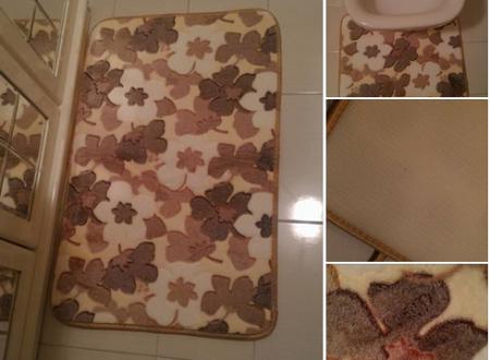 Set 2 tappeti bagno Soledì