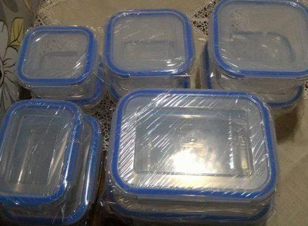 Set 10 contenitori in vetro Zestkit