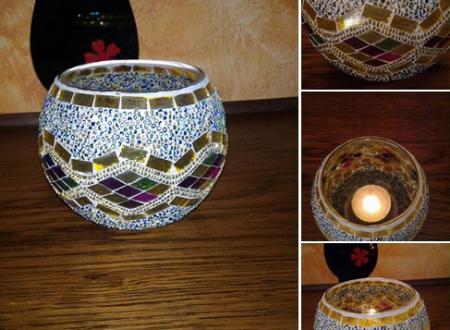 Candeliere mosaico Splink