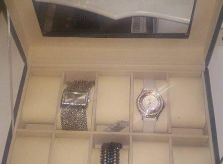 Scatola porta orologi Femor