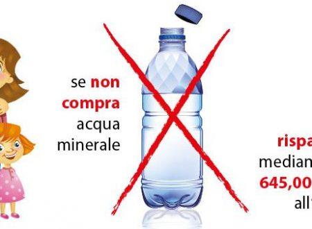 """Le bottiglie di plastica possono far male: un servizio di """"REPORT"""" spiega COME e PERCHE'"""