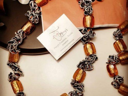 Mory's Creations, creare bijoux con il riciclo